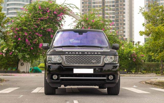 Range Rover Autobiography 5.0 2011, màu đen, xe nhập0