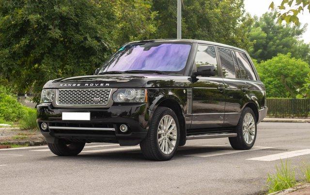 Range Rover Autobiography 5.0 2011, màu đen, xe nhập1