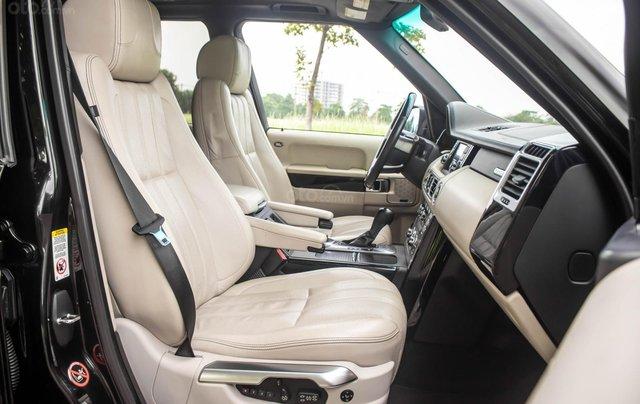 Range Rover Autobiography 5.0 2011, màu đen, xe nhập5