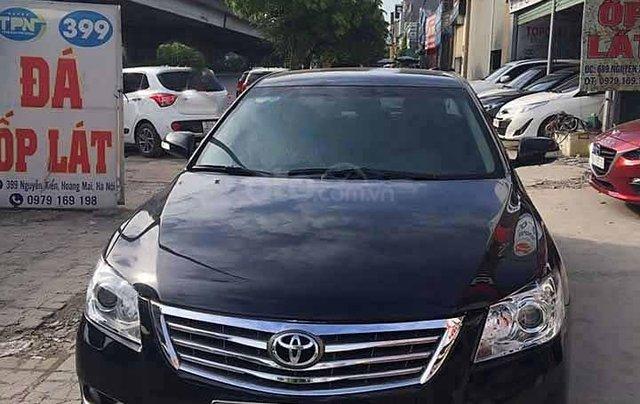 Cần bán xe Toyota Camry 2.4G năm 2012, màu đen0