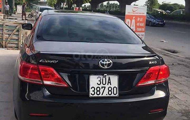 Cần bán xe Toyota Camry 2.4G năm 2012, màu đen1