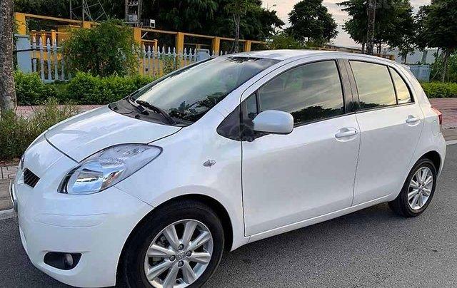 Bán Toyota Yaris năm 2009, màu trắng, nhập khẩu Nhật Bản số tự động, 320tr0