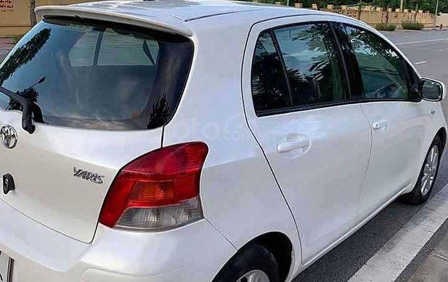 Bán Toyota Yaris năm 2009, màu trắng, nhập khẩu Nhật Bản số tự động, 320tr1