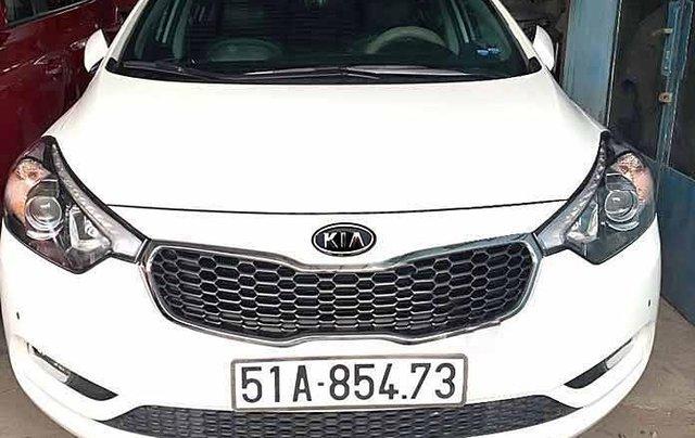 Bán ô tô Kia K3 2014, màu trắng0