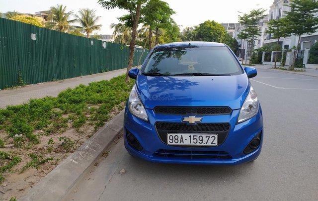 Xe Chevrolet Spark đời 2017, màu xanh lam còn mới, giá chỉ 205 triệu đồng0