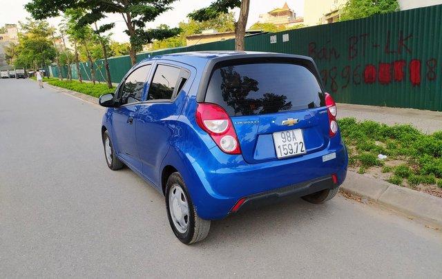 Xe Chevrolet Spark đời 2017, màu xanh lam còn mới, giá chỉ 215 triệu đồng4
