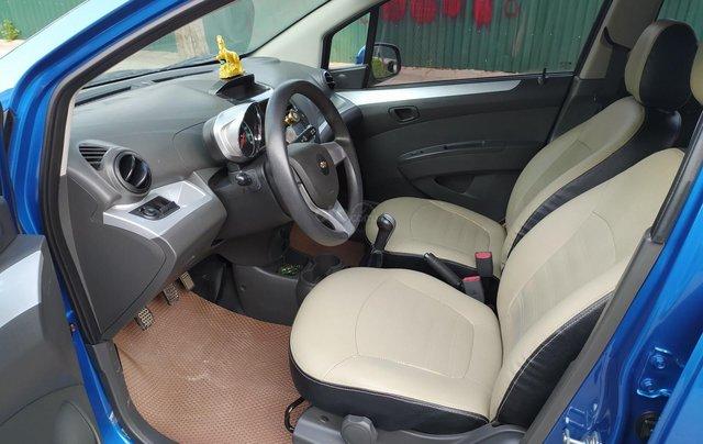 Xe Chevrolet Spark đời 2017, màu xanh lam còn mới, giá chỉ 205 triệu đồng6