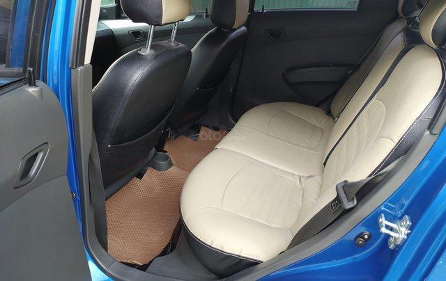 Xe Chevrolet Spark đời 2017, màu xanh lam còn mới, giá chỉ 205 triệu đồng7
