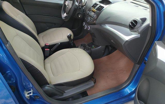 Xe Chevrolet Spark đời 2017, màu xanh lam còn mới, giá chỉ 215 triệu đồng9