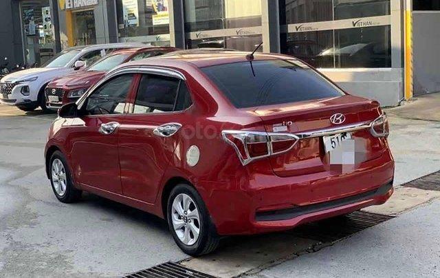 Bán lại xe Hyundai Grand i10 sản xuất 2018, màu đỏ, số tự động3