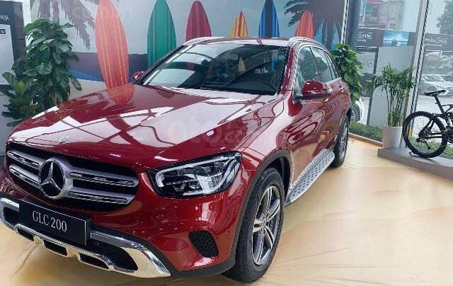 Mercedes-Benz GLC 200 2020 giá tốt nhất, giảm ngay 50% thuế trước bạ cùng hàng ngàn ưu đãi tốt nhất0