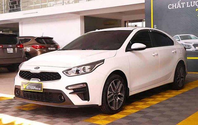 Cần bán lại Kia Cerato năm 2019, màu trắng, giá 518tr0