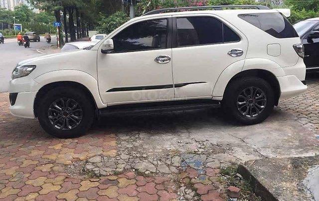 Bán Toyota Fortuner sản xuất 2014, màu trắng còn mới2