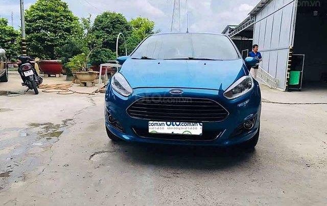 Bán Ford Fiesta sản xuất 2014, màu xanh, 354 triệu4