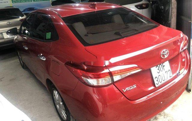 Cần bán xe Toyota Vios sản xuất 2018, màu đỏ còn mới2