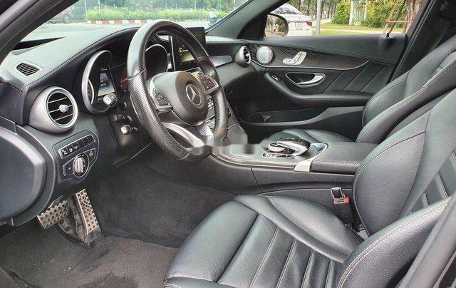 Bán Mercedes C300 AMG đời 2016, màu đen còn mới4
