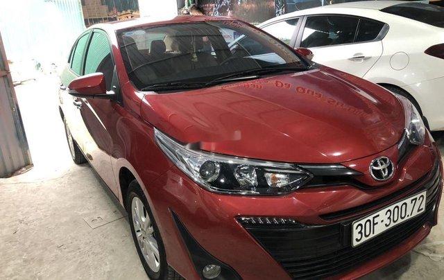 Cần bán xe Toyota Vios sản xuất 2018, màu đỏ còn mới1