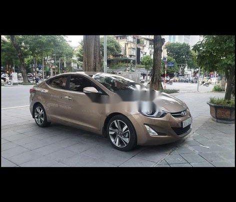 Bán Hyundai Elantra đời 2014, màu nâu, xe nhập còn mới6