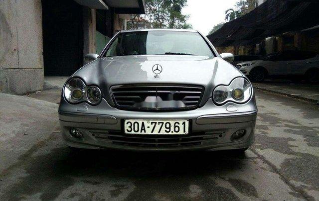 Bán Mercedes C280 năm 2007, màu bạc, nhập khẩu0