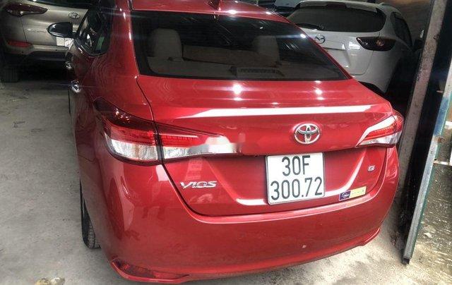 Cần bán xe Toyota Vios sản xuất 2018, màu đỏ còn mới3