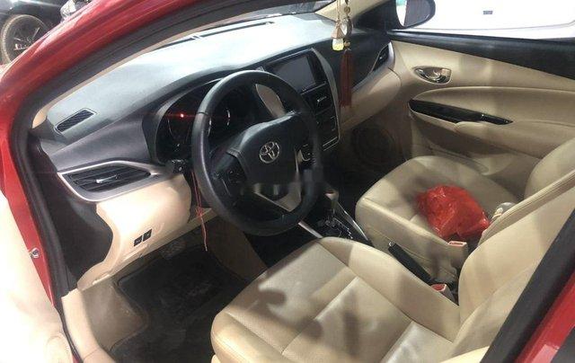 Cần bán xe Toyota Vios sản xuất 2018, màu đỏ còn mới6