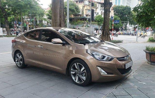 Bán Hyundai Elantra đời 2014, màu nâu, xe nhập còn mới3