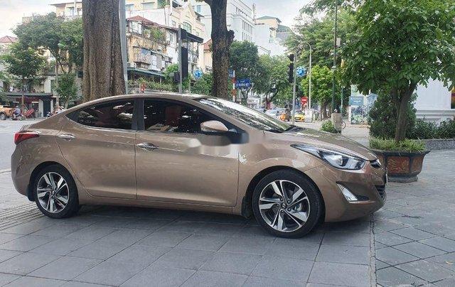 Bán Hyundai Elantra đời 2014, màu nâu, xe nhập còn mới2