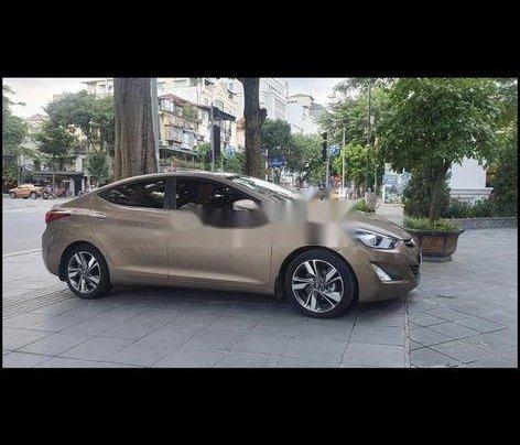 Bán Hyundai Elantra đời 2014, màu nâu, xe nhập còn mới5