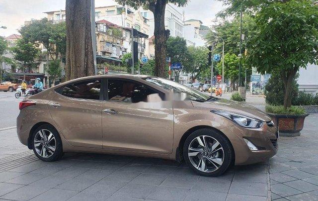 Bán Hyundai Elantra đời 2014, màu nâu, xe nhập còn mới1