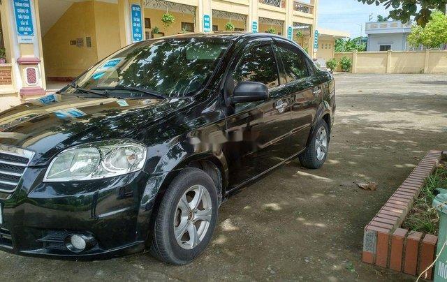 Bán Daewoo Gentra sản xuất 2007, màu đen, giá tốt8