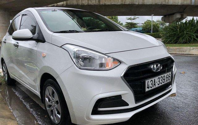 Bán xe Hyundai Grand i10 đời 2018, màu trắng 0