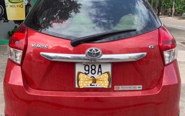 Cần bán xe Toyota Yaris G đời 2016, màu đỏ, nhập khẩu nguyên chiếc  4