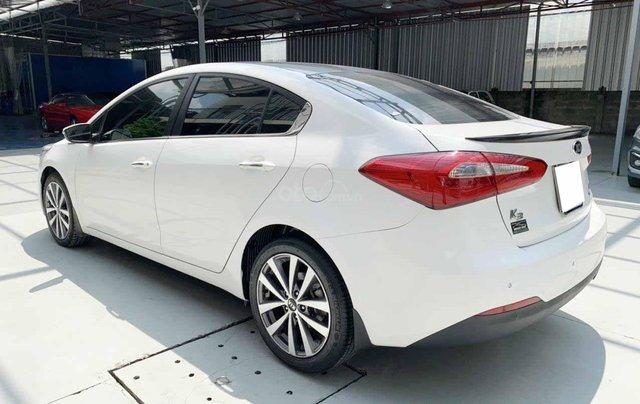 Bán Kia K3 1.6AT cuối 2014, màu trắng, một chủ xe cực đẹp, bao kiểm tra hãng giá rẻ7