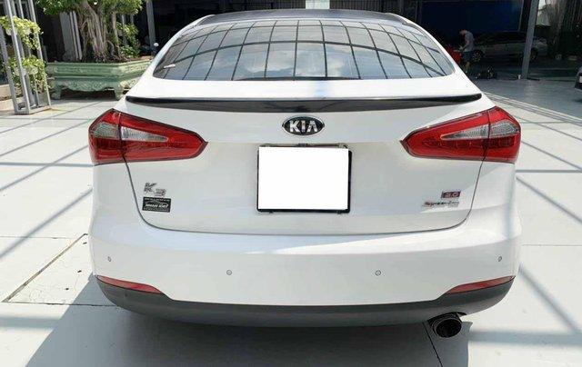 Bán Kia K3 1.6AT cuối 2014, màu trắng, một chủ xe cực đẹp, bao kiểm tra hãng giá rẻ8
