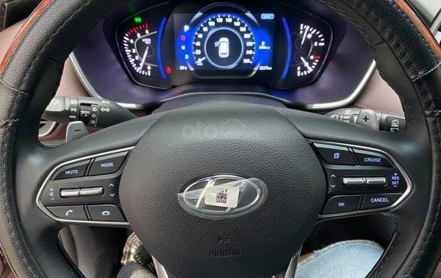 Xe Hyundai Santa Fe sx 2019, màu đỏ chính chủ giá 1 tỷ 199 triệu đồng3