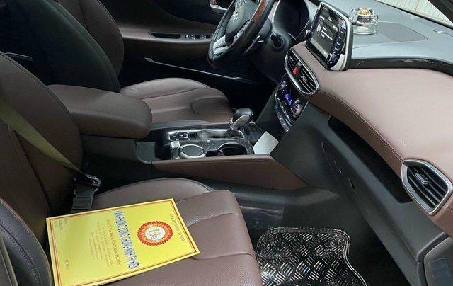 Xe Hyundai Santa Fe sx 2019, màu đỏ chính chủ giá 1 tỷ 199 triệu đồng6