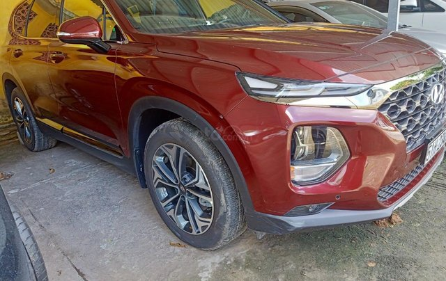 Xe Hyundai Santa Fe sx 2019, màu đỏ chính chủ giá 1 tỷ 199 triệu đồng9