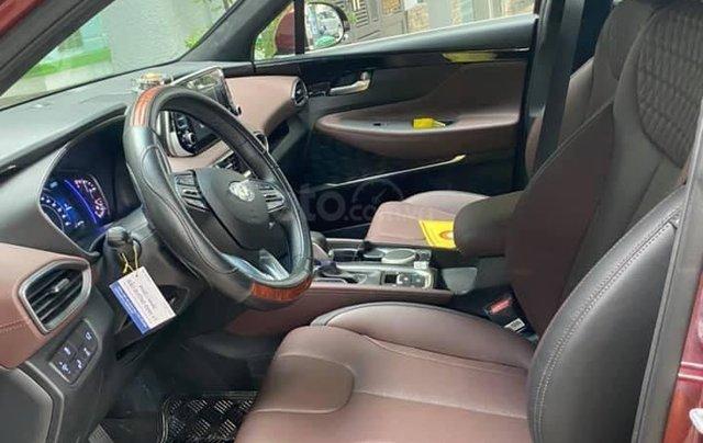 Xe Hyundai Santa Fe sx 2019, màu đỏ chính chủ giá 1 tỷ 199 triệu đồng7
