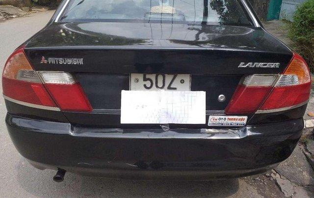 Bán ô tô Mitsubishi Lancer đời 2000, màu đen, giá tốt2
