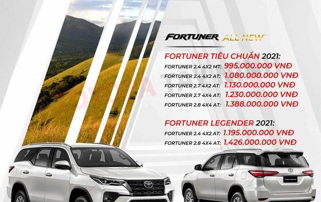 Toyota Fortuner 2.4 số sàn, màu bạc - mua trả góp với 250tr - khuyến mãi giảm giá tiền mặt - Tặng phụ kiện2