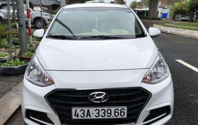 Bán xe Hyundai Grand i10 đời 2018, màu trắng 1