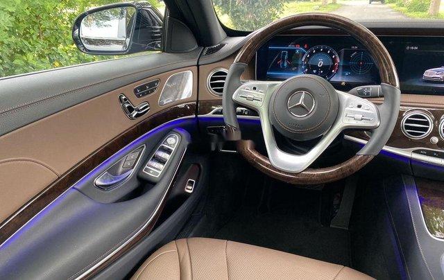 Bán Mercedes S450L đời 2020, màu đen7