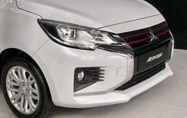 Bán Mitsubishi Attrage năm sản xuất 2020, màu trắng, nhập khẩu nguyên chiếc2