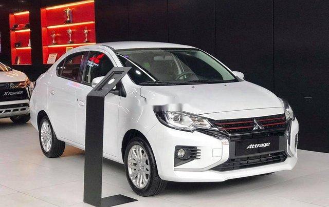 Bán Mitsubishi Attrage năm sản xuất 2020, màu trắng, nhập khẩu nguyên chiếc0