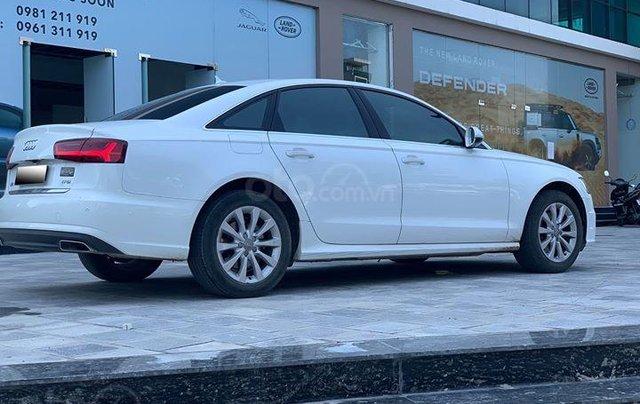 Audi A6 - Sx 2016, màu trắng nội thất nâu5