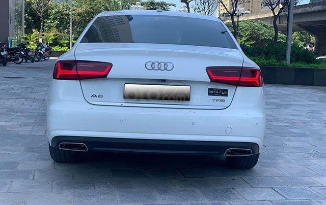 Audi A6 - Sx 2016, màu trắng nội thất nâu7