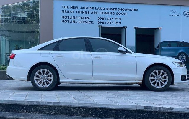 Audi A6 - Sx 2016, màu trắng nội thất nâu3