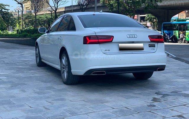 Audi A6 - Sx 2016, màu trắng nội thất nâu6