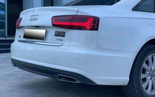 Audi A6 - Sx 2016, màu trắng nội thất nâu4