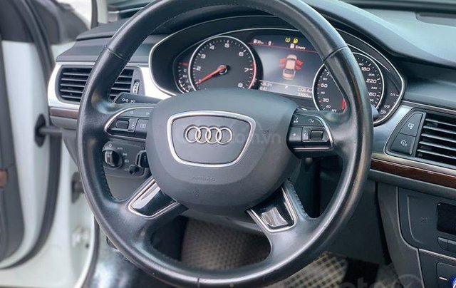 Audi A6 - Sx 2016, màu trắng nội thất nâu10